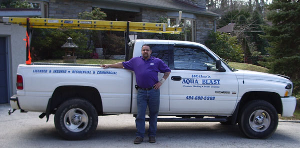 Mike S Aquablast Is Powerwashing In Your Area